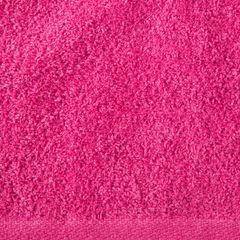 Gładki ręcznik kąpielowy amarantowy 50x90 cm - 50 X 90 cm - liliowy 4