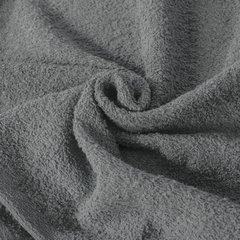 Gładki ręcznik kąpielowy stalowy szary 30x50 cm - 30 X 50 cm - stalowy 4