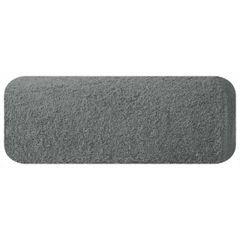 Gładki ręcznik kąpielowy stalowy szary 30x50 cm - 30 X 50 cm - stalowy 2