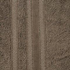 Ręcznik z bawełny zdobiony błyszczącą nitką 50x90cm brązowy - 50 X 90 cm - brązowy 6
