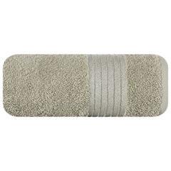 Klasyczny ręcznik kąpielowy beżowy 70x140 cm - 70 X 140 cm - beżowy 1