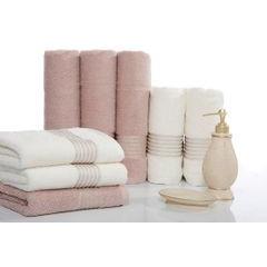 Klasyczny ręcznik kąpielowy beżowy 70x140 cm - 70 X 140 cm - beżowy 3