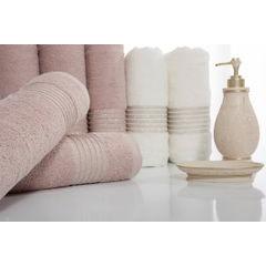 Klasyczny ręcznik kąpielowy beżowy 70x140 cm - 70 X 140 cm - beżowy 4
