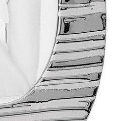Ramka na zdjęcia owalna ceramiczna 28 x 18 x 1 cm - 28 X 18 X 1 cm - srebrny 8