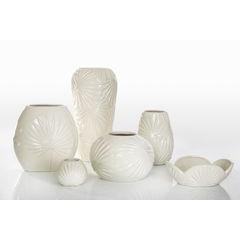 Puzderko ceramiczne ażurowe 8 cm - ∅ 12 X 8 cm - kremowy 2