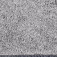 AMY STALOWY RĘCZNIK Z MIKROFIBRY SZYBKOSCHNĄCY 30x30 cm EUROFIRANY - 30 X 30 cm - stalowy 3