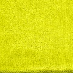 Ręcznik z mikrofibry szybkoschnący limonkowy 30x30cm  - 30 X 30 cm - zielony 4