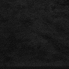 AMY CZARNY RĘCZNIK Z MIKROFIBRY SZYBKOSCHNĄCY 50x90 cm EUROFIRANY - 50 X 90 cm - czarny 3