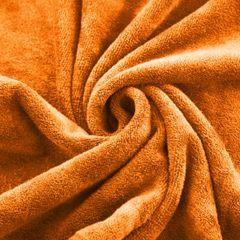 AMY POMARAŃCZOWY RĘCZNIK Z MIKROFIBRY SZYBKOSCHNĄCY 50x90 cm EUROFIRANY - 50 X 90 cm - pomarańczowy 5