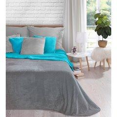 Poszewka na poduszkę z grafitowa 40 x 40 cm  - 40 X 40 cm - grafitowy 2