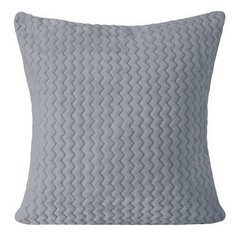 Poszewka na poduszkę z grafitowa 40 x 40 cm  - 40 X 40 cm - grafitowy 1