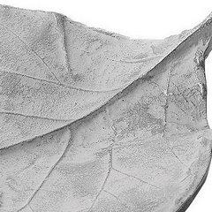 Patera ceramiczna liść 41 x 11 x 26 cm - 41 X 11 X 26 cm - biały 4