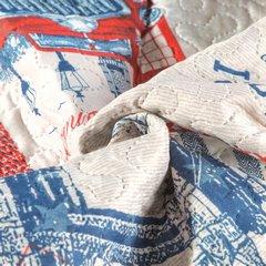 Narzuta wzór młodzieżowy patchwork 170x210cm - 170 X 210 cm - mix kolorów 6