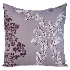 Poszewka na poduszkę biała z ornamentowym wzorem 40 x 40 cm - 40x40 - biały 1