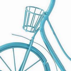 Lampa rower turkus 36 x 20 x 40 cm - 36 X 20 X 40 cm - turkusowy 5