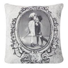 Poszewka dekoracyjna na poduszkę  45 x 45 Kolor Kremowy - 45x45 - kremowy 1