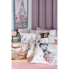Poszewka dekoracyjna na poduszkę 45 x 45 kolor brązowy - 45x45 - brązowy 3