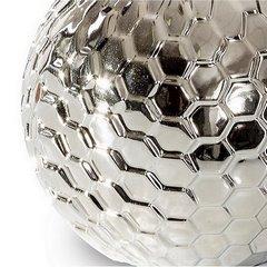 Wazon ceramiczny wytłaczany jasnozłoty 32 cm - ∅ 14 X 32 cm - jasnozłoty 4