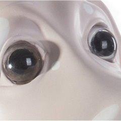 Figurka różowy pies w grochy 35 cm - 35 X 25 X 35 cm - jasnoróżowy 3