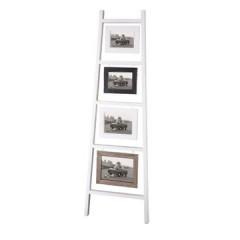 Ramka na zdjęcia drabinka 38 x 3 x 120 cm - 38 X 3 X 120 cm - biały 1