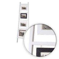 Ramka na zdjęcia drabinka 38 x 3 x 120 cm - 38 X 3 X 120 cm - biały 3