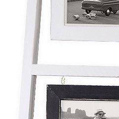 Ramka na zdjęcia drabinka 38 x 3 x 120 cm - 38 X 3 X 120 cm - biały 4