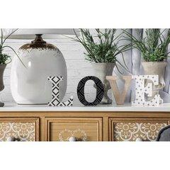 Dekoracja napis love styl młodzieżowy 12 cm - 44 X 2 X 12 - biały/czarny 7