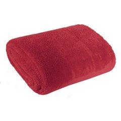 Koc miękki jednokolorowy czerwony 150x200cm - 150 X 200 cm - czerwony 3