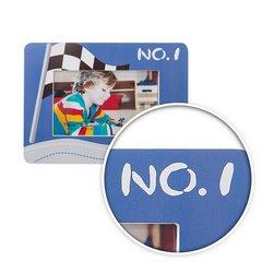 Ramka na zdjęcia z drewna sport 17 x 22 x 1 cm - 17 X 22 X 1 cm - niebieski/mix kolorów 7