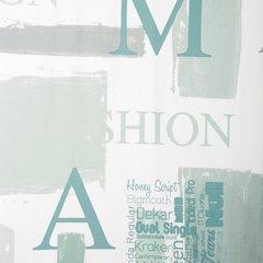 Zasłona młodzieżowa z typograficznym nadrukiem przelotki 140x250cm - 140x250 - mix kolorów 3