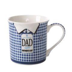 Kubek tata porcelana 325 ml - 325ml - niebieski 1