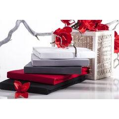 Prześcieradło gładkie z gumką bawełna jersey czerwone 220x200+30cm - 220 x 200 cm, wys.30 cm - czerwony 7