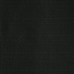 Czarna ZASŁONA o strukturze płótna na przelotkach 140x250 cm - 140x270 - Czarny 2