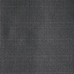 Grafitowa ZASŁONA o strukturze płótna na przelotkach 140x270 cm - 140x270 - Grafitowy 2
