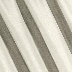 Kremowa gładka zasłona o strukturze płótna 140x270 cm przelotki - 140 X 270 cm - ecru 1