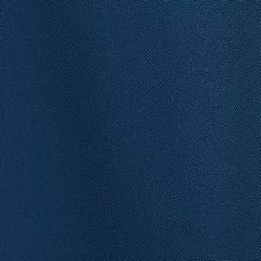 Niebieska gładka zasłona z matowej satyny 140x250 przelotki - 140 X 250 cm - ciemny niebieski 4
