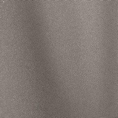 Jasnobrązowa gładka zasłona z matowej satyny 140x250 przelotki - 140 X 250 cm - jasny brązowy 4