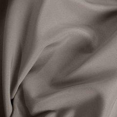 Jasnobrązowa gładka zasłona z matowej satyny 140x250 przelotki - 140x250 - brązowy 2