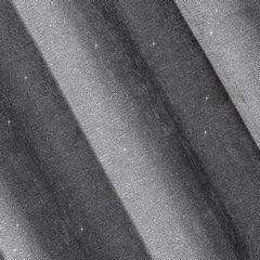 Zasłona gotowa z błyszczącą nicią 140x250 cm przelotki - 140 X 250 cm - szary 3