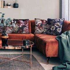 Poszewka na poduszkę velvetowa kremowa 40 x 40 cm  - 40 X 40 cm - kremowy 6