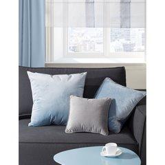 Poszewka na poduszkę velvetowa kremowa 40 x 40 cm  - 40 X 40 cm - kremowy 7