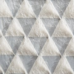 Dwustronna narzuta o strukt. futra spód polarowy 150x200 - 150x200 - BIAŁY 5