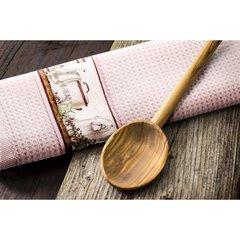 Ręczniki kichenne ariana biały=różowy komplet 2szt - 40 X 60 cm - biały/różowy 4