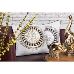 Poszewka dekoracyjna na poduszkę 45 x 45 kolor  - 45x45 - szary 2