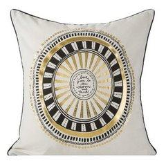Poszewka dekoracyjna na poduszkę 45 x 45 kolor  - 45x45 - szary 1