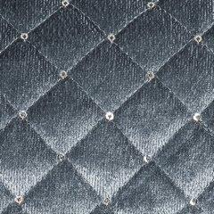 Narzuta na łóżko pikowana zdobiona cekinami 170x210 cm stalowa - 170 X 210 cm - stalowy 5