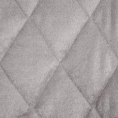 Narzuta na łóżko welwetowa pikowana 200x220 cm różowa - 200 X 220 cm - j.różowy 6