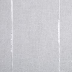 Zasłona gotowa biała z pionowymi prążkami 140x250 cm przelotki - 140x250 - biały 3