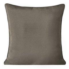 Poszewka na poduszkę gładka jasny brąz 40 x 40 cm  - 40x40 - brązowy 1