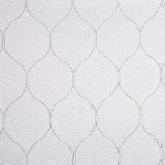 Zasłona Gotowa Biała Z Motywem Plastra Miodu 140X250 Przelotki - 140x250 - biały 3